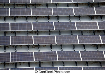 Solar power energy on roof top