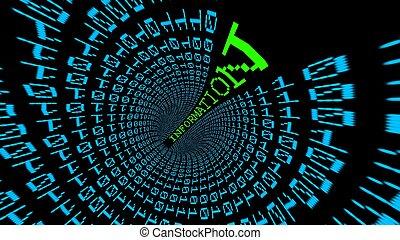 Information data tunnel