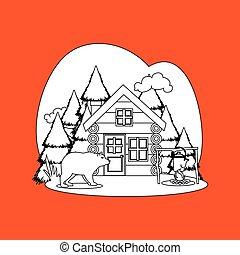 log cabin design