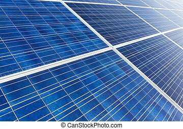 Solar panel for energy