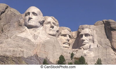 Mt Rushmore National Memorial is located in southwestern...