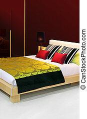 coloré, chambre à coucher