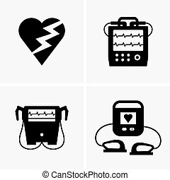 Defibrillators and their sign