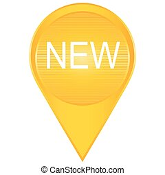 Sign New New sign illustration - Sign New New signs Isolated...
