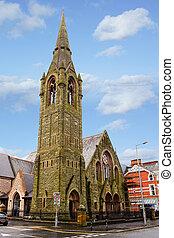Fitzroy Church in Belfast: moravian church
