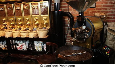 Local coffee shop well-known by it great variety of delicious  coffee of different flavors.