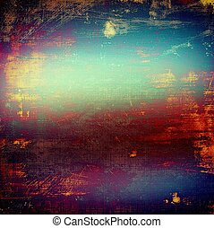 Abstract grunge weathered background of vintage texture. With different color patterns: yellow (beige); blue; red (orange); purple (violet); pink