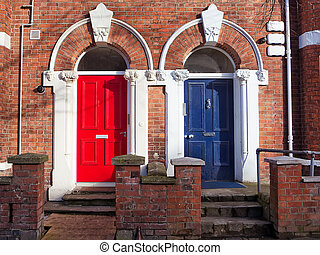 Colorured Doors in UK