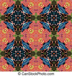 Kaleidoscopic ornamental pattern