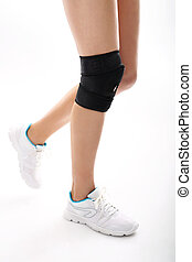 rehabilitation and orthopedics - Knee injury, tourniquet...