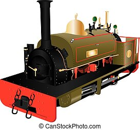 Vintage Narrow Gauge Loco - A Vintage Narrow Gauge Steam...