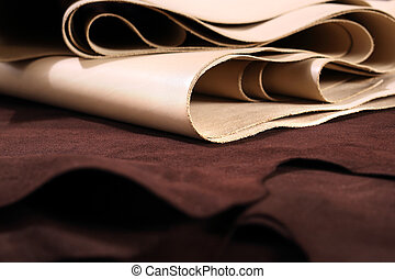 Wholesale fabric - The composition of brown and vanilla...