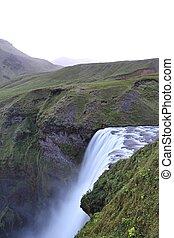 Skogafoss Iceland - Skogafoss waterfall, Iceland