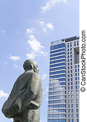 Monument to Vladimir Lenin, Moscow, Russia - Monument to...