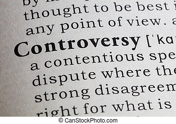 definition of controversy - Fake Dictionary, Dictionary...