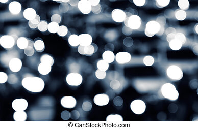 Abstract light background of city traffic night.