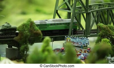 train with panzer  - Set of panzer transport by rail