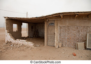 A Town in the Desert, Peru, Southamerica