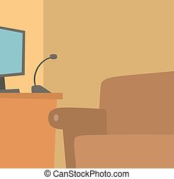 Recording place illustration - Recording place illustration...