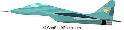 Military plane vector cartoon illustration Military airplane...