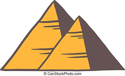 Egypt pyramids illustration - Egypt pyramids illustration....