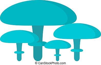 Mushrooms Illustration on white background Mushrooms...