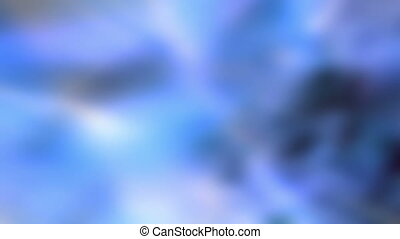Soft Blues Loop X64 Background - Animated soft blue flowing...