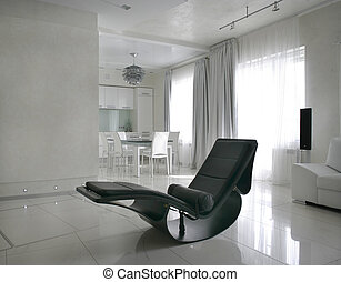 rocker in living room