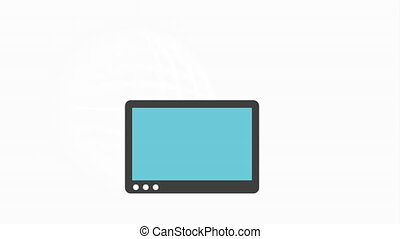 Programming icon design, Video Animation HD1080