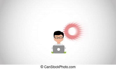 Computer icon design, Video Animation HD1080