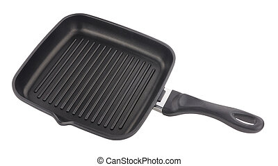 Non Stick Griddle Frying Pan - Non stick ridged griddle pan...