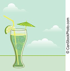 Cool Drink vector
