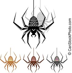 Color Spider Art