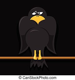 Crow Cartoon