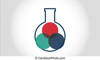 chemistry concept design, Video Animation HD1080