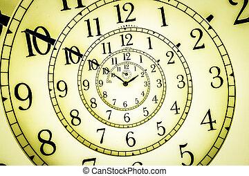hipnótico, reloj,
