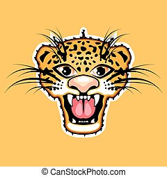 Leopard Cartoon Jaguar