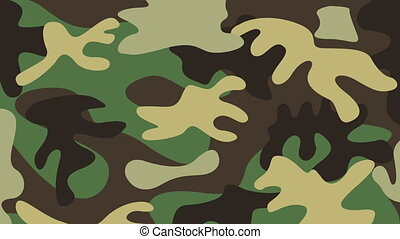 military camouflage design, Video Animation HD1080