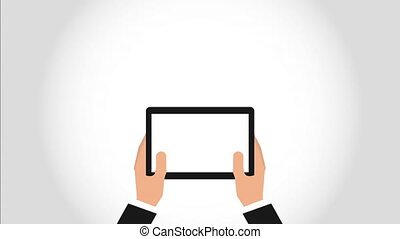 hand on device design, Video Animation HD1080