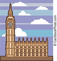 Clock Tower vector