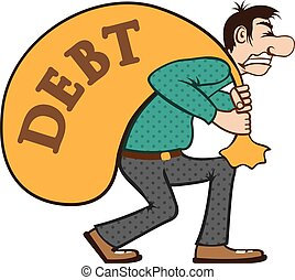 Debt pressure load struggle