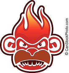 Monkey Face Logo