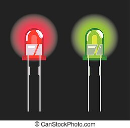 Diode Red and Green