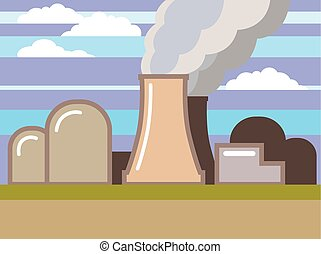 Nuclear Power Plant illustration