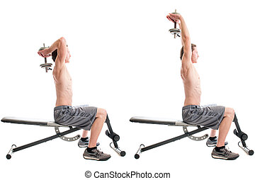 Overhead Triceps Extension - Overhead triceps Extension...