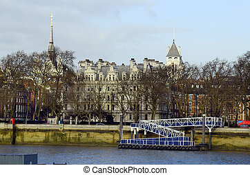 United Kingdom-London - Great Britain, London, buildings and...