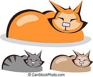 Sleeping Cat colors