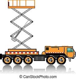 Jumbo Truck lift