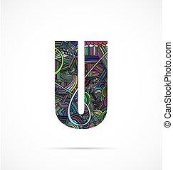 """Letter """"U"""""""