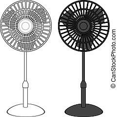 Tall Fan